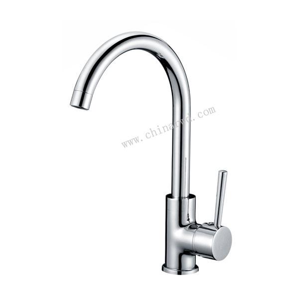 单柄立式洗槽龙头 WJ2305