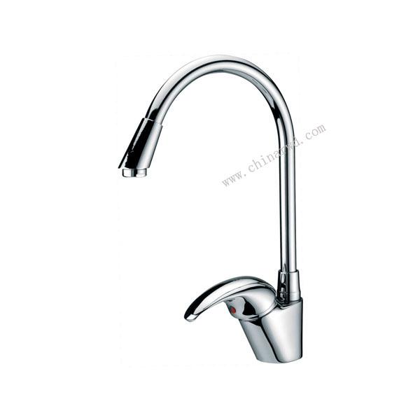 单柄立式洗槽龙头 WJ0505
