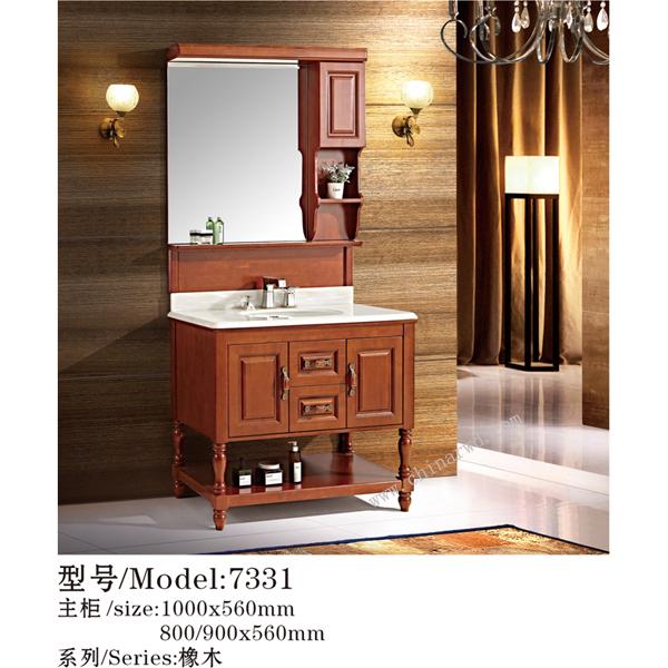 浴室柜-橡木 WJ-Y7331